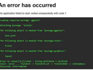 Error Shiny